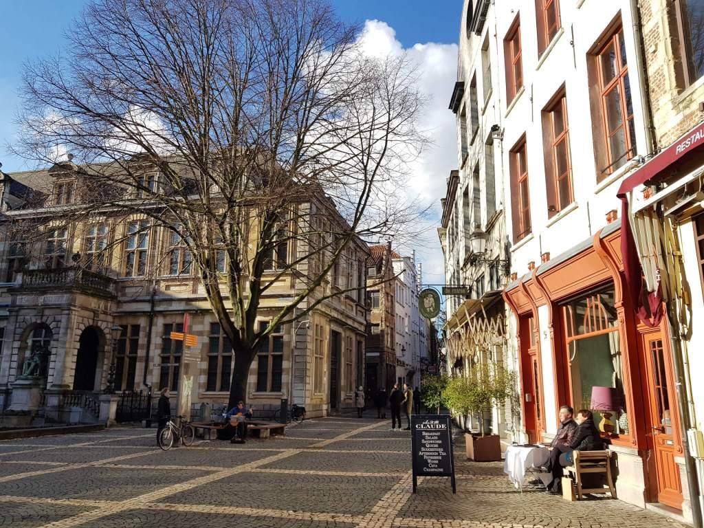 Hendrik Conscienceplein in Antwerpen