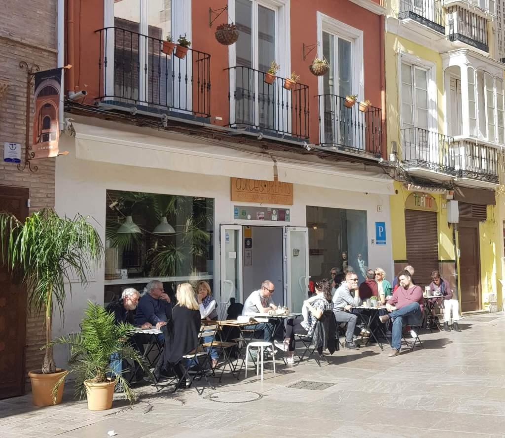 Dulces Dreams Boutique Hostel & Café Gallery in Malaga