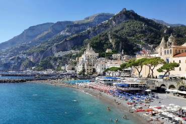 amalfi kust italie