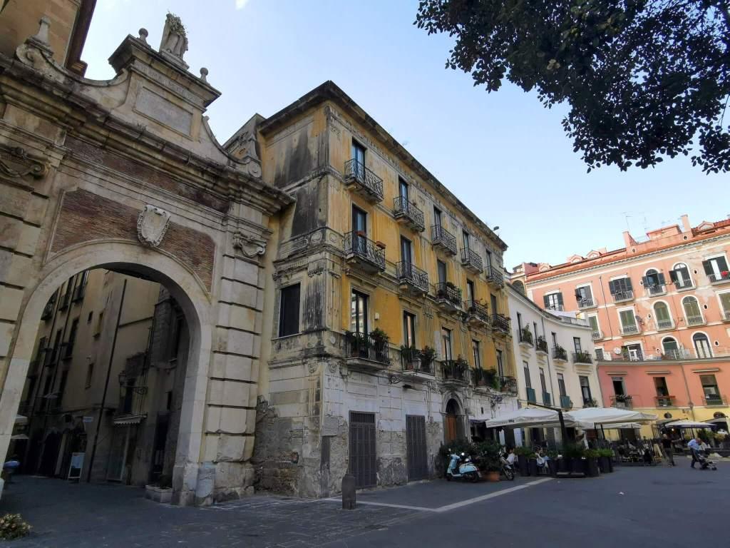 Het centrum van Salerno