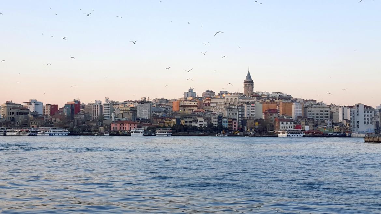 uitzicht over istanbul