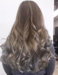 Graue haare hellbraun farben  Stilvolle frisuren beliebt ...