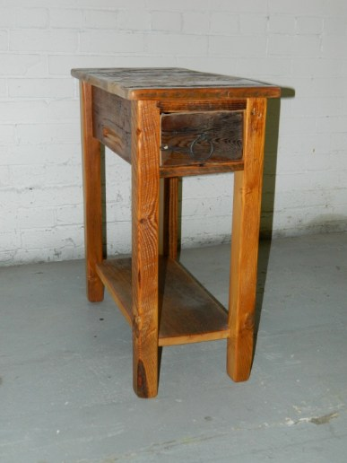 Narrow End Table
