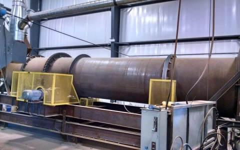 Powder Dryer for Garnet Recycling