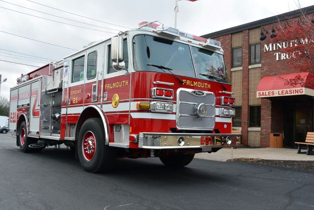 Falmouth Fire Department, MA Job #32301