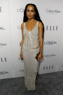 LOS ANGELES, CA - OCTOBER 19: Actress Zoe Kravitz attends the 22nd Annual ELLE Women in Hollywood Awards at Four Seasons Hotel Los Angeles at Beverly Hills on October 19, 2015 in Los Angeles, California. (Photo by Jeff Vespa/Getty Images for ELLE)