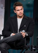 NEW YORK, NY - MARCH 14: Theo James attends AOL Build Speaker Series at AOL Studios in New York on March 14, 2016 in New York City. (Photo by Jenny Anderson/FilmMagic)