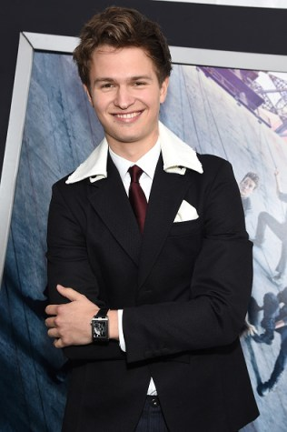 "NEW YORK, NEW YORK - MARCH 14: Actor Ansel Elgort attends the New York premiere of ""Allegiant"" at the AMC Lincoln Square Theater on March 14, 2016 in New York City. (Photo by Jamie McCarthy/Getty Images)"