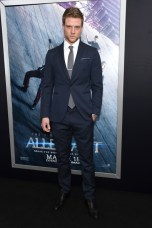 "NEW YORK, NEW YORK - MARCH 14: Actor Jonny Weston attends the New York premiere of ""Allegiant"" at the AMC Lincoln Square Theater on March 14, 2016 in New York City. (Photo by Jamie McCarthy/Getty Images)"