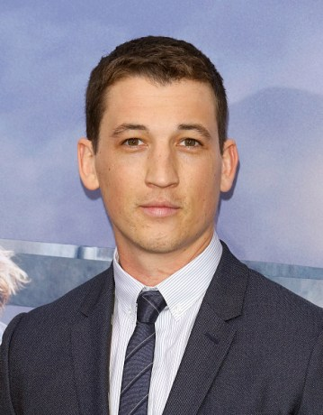 "NEW YORK, NY - MARCH 14: Actor Miles Teller attends the ""Allegiant"" New York premiere at AMC Loews Lincoln Square 13 theater on March 14, 2016 in New York City. (Photo by Jim Spellman/WireImage)"