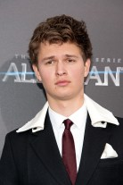 "NEW YORK, NY - MARCH 14: Ansel Elgort attends the ""Allegiant"" New York premiere at AMC Lincoln Square Theater on March 14, 2016 in New York City. (Photo by D Dipasupil/Getty Images)"