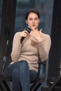 """NEW YORK, NY - MARCH 14: Actress Shailene Woodley attends a discussion of the film """" Allegiant"""" during AOL BUILD Speaker series at AOL Studios In New York on March 14, 2016 in New York City. (Photo by Gary Gershoff/WireImage)"""