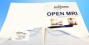 custom printed presentation folders