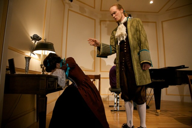 Allegra Durante and Nathan Baer in Replenished Repertoire, August 2012, costumes by Allegra Durante, photo by Joseph Henry Ritter