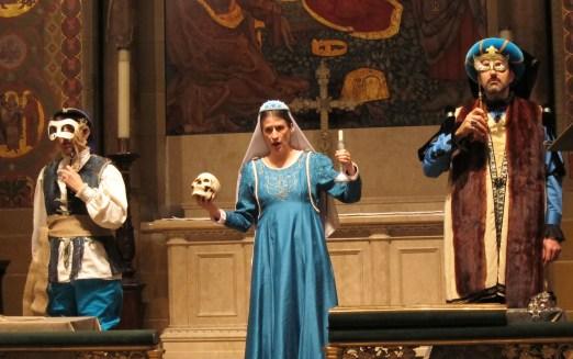 Opera Feroce in Magdalene's Dilemma, 2013-14, costumes by Allegra Durante