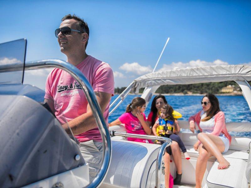 Skippered Boat hire – Corfu