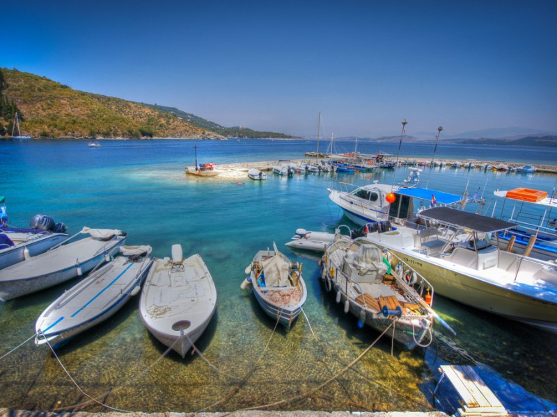 Skippered Daytrip to Kassiopi Corfu with an amazing speedboat for small groups