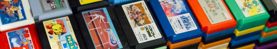Part of Matt's Famicom Collection