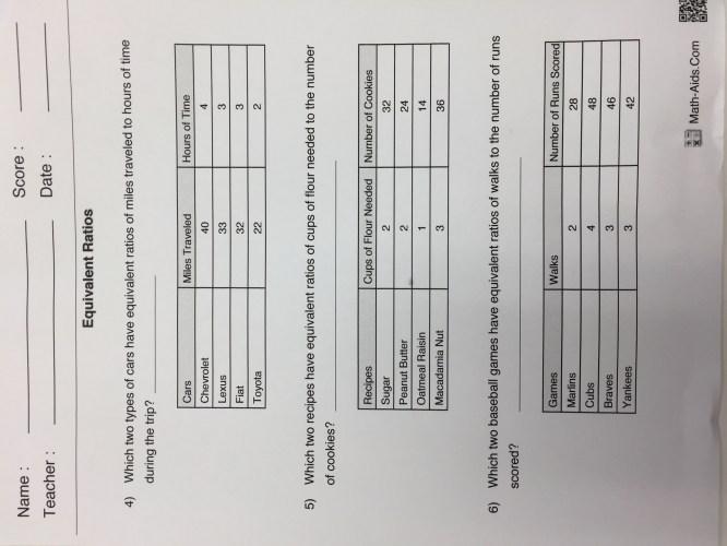 small resolution of 6th grade 2nd quarter - Mr. Washington's Math