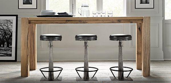 table de cuisine moderne