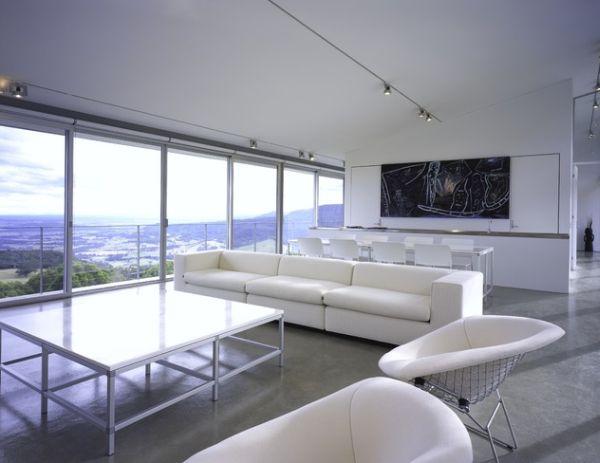 Coole Schienen Beleuchtung frs moderne Haus  tolle