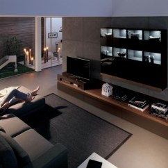 Simple Tv Wall Unit Designs For Living Room Fixtures Kombinationen Von Lackierten Holzschrankwänden Hülsta