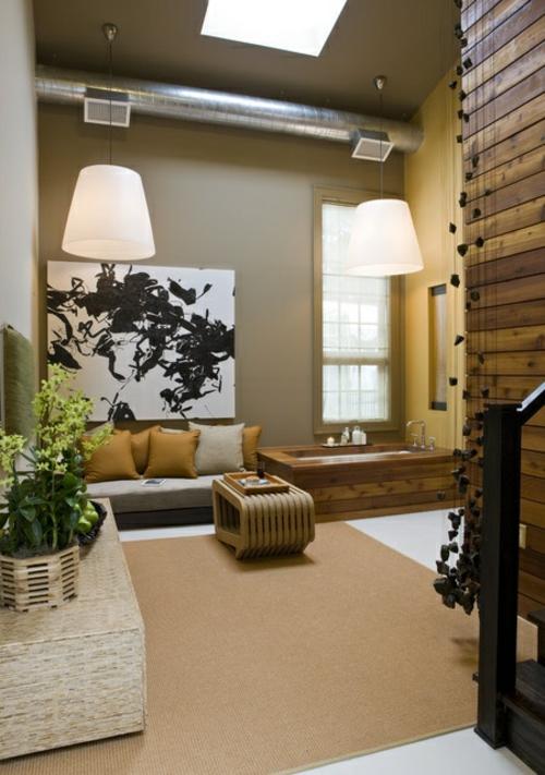 Minimalistische Meditation Raum Designs  Verbesserung und