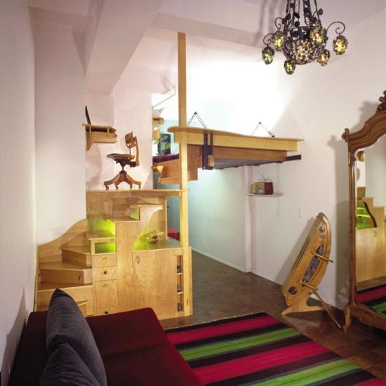 ideen f r kleine schlafzimmer - boisholz, Moderne