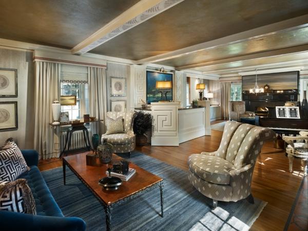 8 Tipps Ihr Zimmer in Art Deco Drama anzuziehen