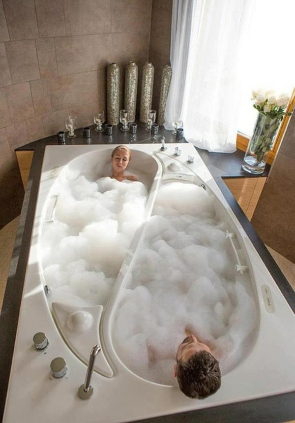 Badewanne fr Zwei gebaut Die Yin Yang Badewanne von Trautwein