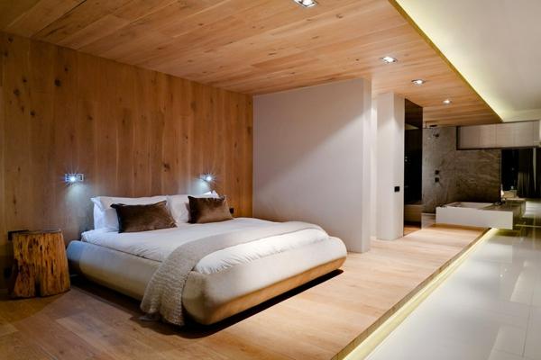Moderner Aufbau mit blichen Formen  BoutiqueHotel in