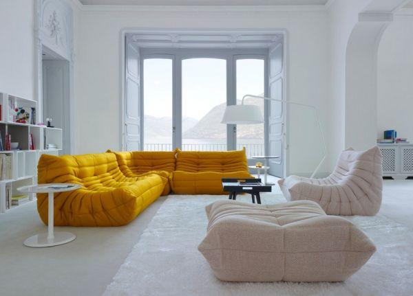 2015 ? 2016 gelb und grau kleine wohnzimmer design | stylesuche ... - Wohnzimmer Gelb Weis