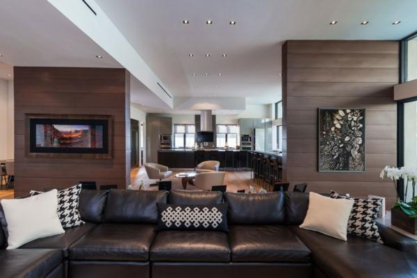 living room bar ideas upholstery furniture luxuriöse wohnung in beverly hills bietet persönlichkeit ...
