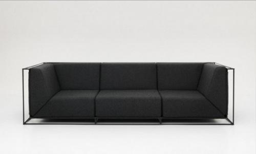 So einfach wie es nur geht minimalistische Sofas