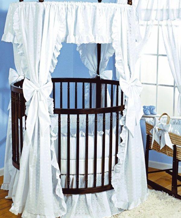 26 runde Baby Betten fr ein farbenfrohes und gemtliches Kinderzimmer