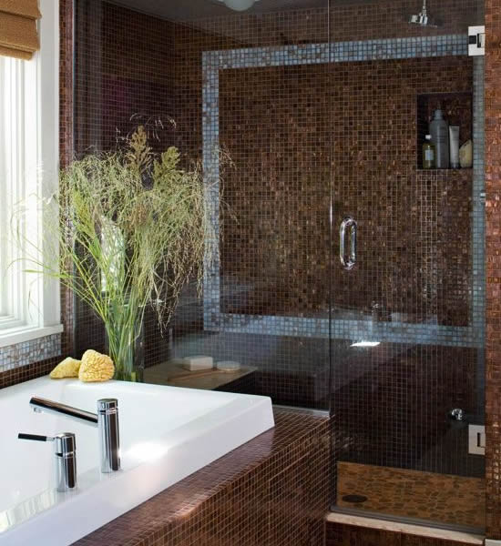10 stilvolle Badezimmer Einrichtungen  moderne