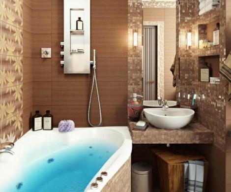 40 Design Ideen fr kleine Badezimmer