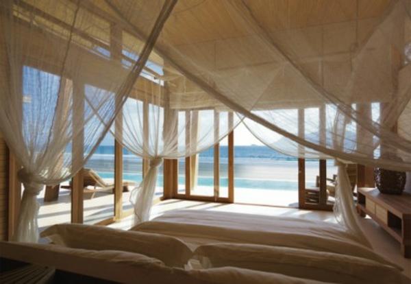 10 wunderschne Schlafzimmer mit Aussicht auf den Strand
