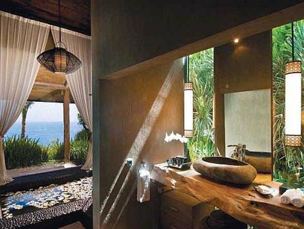 23 Fantastische Rustikale Badezimmer Design Ideen