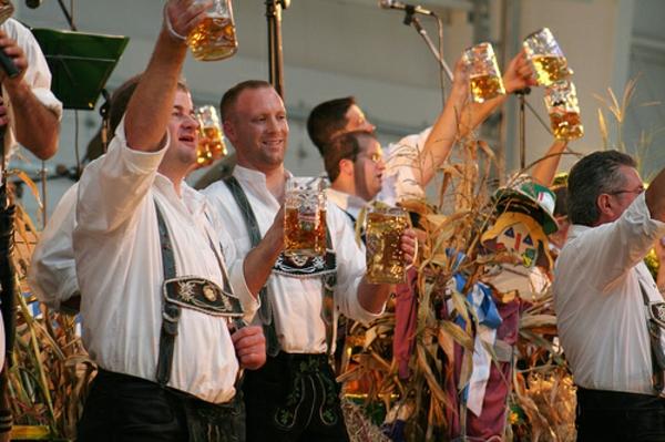 Das weltberhmte Oktoberfest in Mnchen