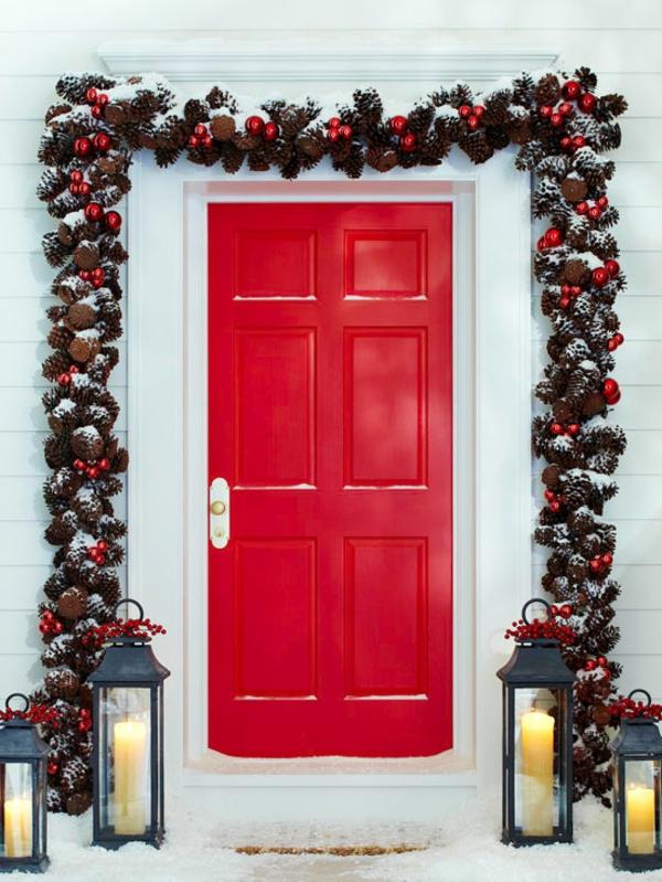 Tolle Weihnachten Trdekoration
