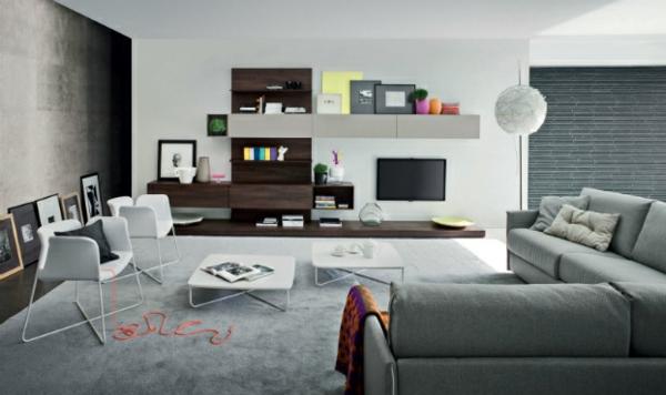 Fantastisch Auffällige Wohnzimmer Einrichtung U2013 Frischekick Für Die Wohnung