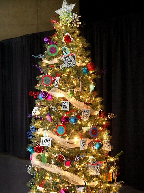 Weihnachtsbaum Dekoration  sind Sie fr neue Deko Ideen
