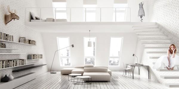 living room interior design modern how to hide a tv in your wohnzimmer gestaltungsideen - haben sie ein regal für alle ...