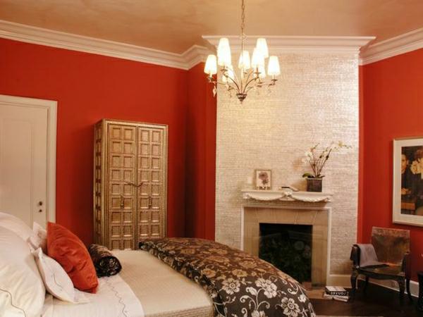 Wandfarbe Weinrot Rote Wandfarbe Maak Het U Gemakkelijk Om Uw Huis Te Versieren Met Onze Ideen