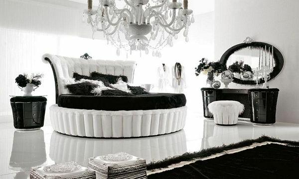 10 groartige schwarzweie Schlafzimmer Ideen