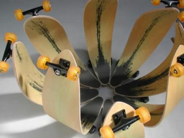 19 handgemachte eindrucksvolle Skateboard Erzeugnisse