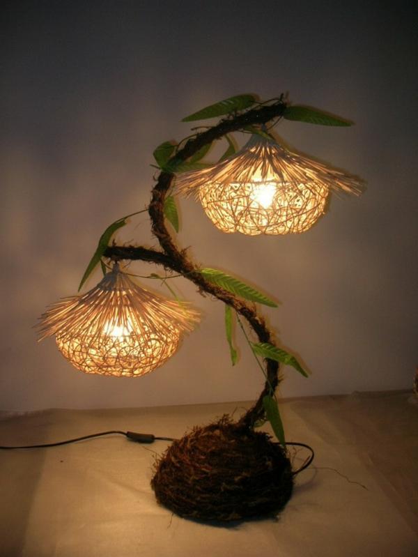 20 Ideen fr kreative handgemachte Lampen