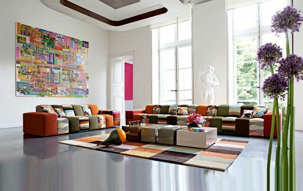 Moderne modulare Sofas