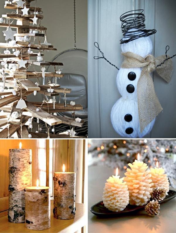 20 natrliche Weihnachtsdekorationen fr ein schnes Zuhause
